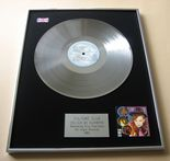 CULTURE CLUB - COLOUR BY NUMBERS PLATINUM LP PRESENTATION Disc